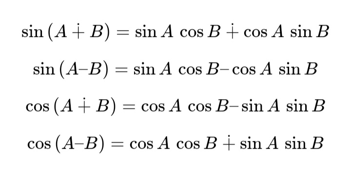 All Trigonometry Formulas For Class 10, 11, 12 (PDF) 6